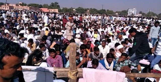 किसान हुंकार रैली: बेनीवाल ने मोदी पर साधा निशाना,कहा…