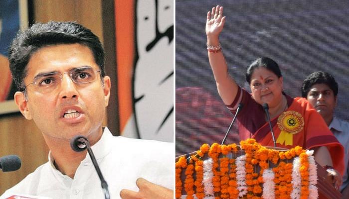 राजस्थान : मांडलगढ़ विधानसभा सीट पर BJP, अजमेर, अलवर लोकसभा सीटों पर कांग्रेसआगे