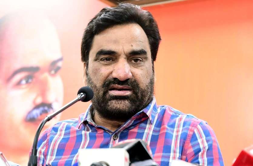 दिग्गज जाट नेता हनुमान बेनीवाल ने निकाली किसानों के समर्थन में ट्रैक्टररैली